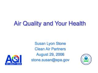 Air Quality and Your Health