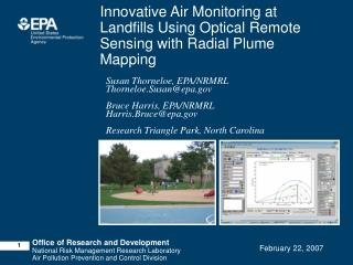 Innovative Air Monitoring at Landfills Using Optical Remote Sensing with Radial Plume Mapping