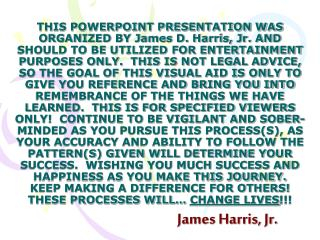 James Harris, Jr.