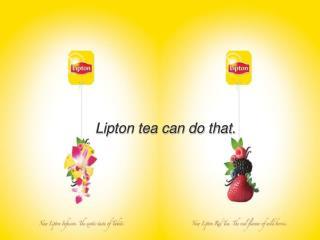 Lipton tea can do that.