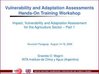 Asunción Paraguay.  August 14-18, 2006