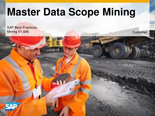 Master Data Scope Mining