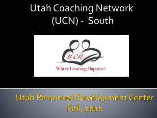 Utah Personnel Development Center Fall, 2010