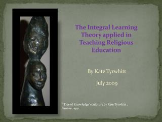 The Integral Learning Theory applied in Teaching Religious Education
