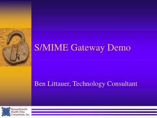 S/MIME Gateway Demo