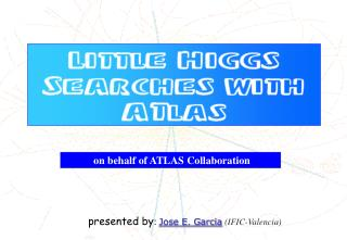 on behalf of ATLAS Collaboration