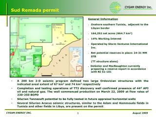Sud Remada permit
