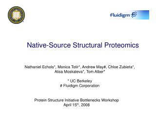 Native-Source Structural Proteomics