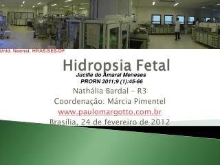 Nathália Bardal – R3 Coordenação: Márcia Pimentel paulomargotto.br
