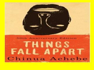 Chinua Achebe was born in Eastern Nigeria on November 16, 1930.