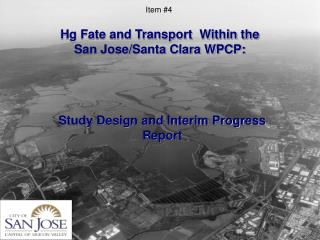 Hg Fate and Transport  Within the  San Jose/Santa Clara WPCP: