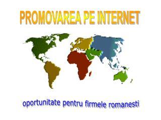 oportunitate pentru firmele romanesti