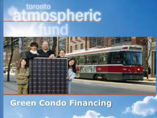 Green Condo Financing