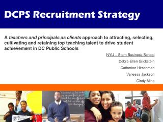 DCPS Recruitment Strategy