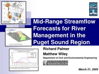 Mid-Range Streamflow Forecasts for River Management in the Puget Sound Region