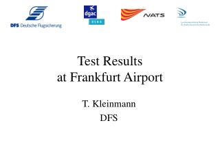 Test Results  at Frankfurt Airport