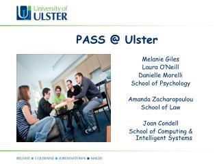 PASS @ Ulster