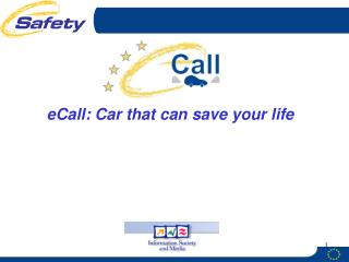 eCall: Car that can save your life