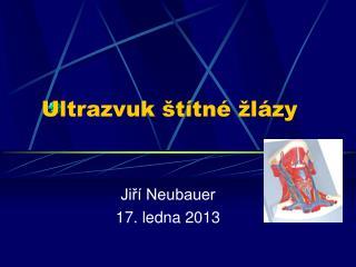 Ultrazvuk �t�tn� �l�zy