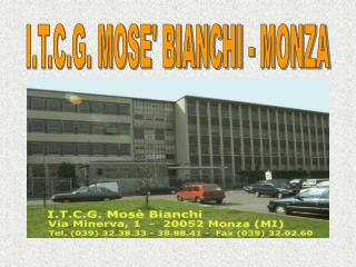 I.T.C.G. MOSE' BIANCHI - MONZA