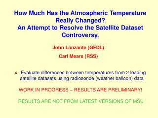 How Much Has the Atmospheric Temperature Really Changed?