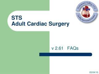 STS  Adult Cardiac Surgery