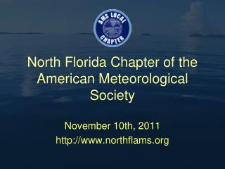 North Florida Chapter of the American Meteorological Society