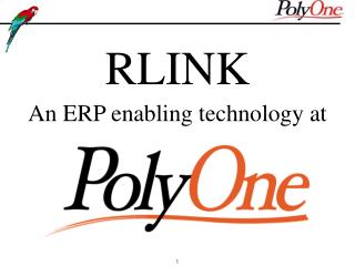 RLINK An ERP enabling technology at