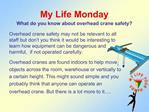 My Life Monday