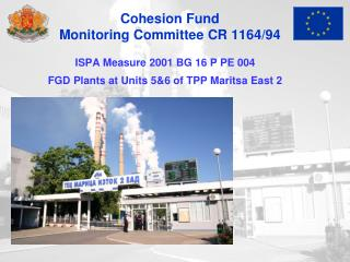 Cohesion Fund Monitoring Committee CR 1164/94