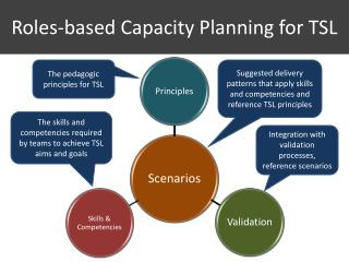 Roles-based Capacity Planning for TSL