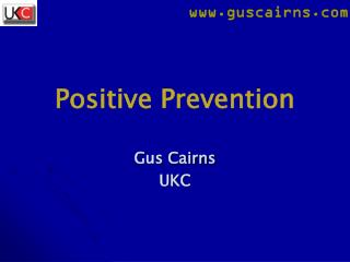 Positive Prevention