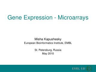 Gene Expression - Microarrays