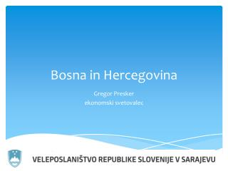 Bosna in Hercegovina