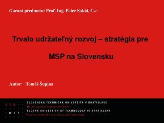 Autor:Tomáš Šupina