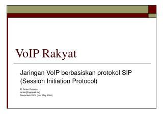 VoIP Rakyat