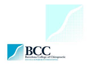Study  Chiropractic in Barcelona