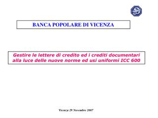 Vicenza 29 Novembre 2007