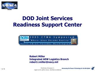 DOD Joint Services  Readiness Support Center