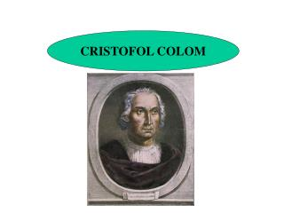 CRISTOFOL COLOM