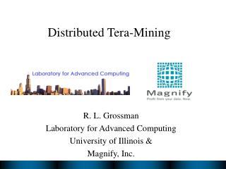 Distributed Tera-Mining