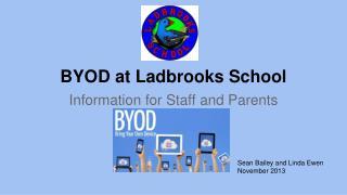 BYOD at Ladbrooks School