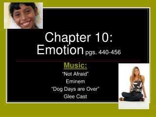 Chapter 10: Emotion pgs. 440-456
