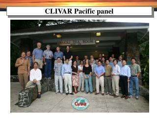 CLIVAR Pacific panel