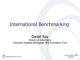 International Benchmarking