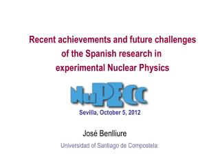 Recent achievements and future challenges of the Spanish research in  experimental Nuclear Physics