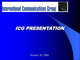 ICG PRESENTATION