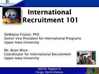 International  Recruitment 101