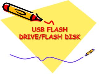 USB FLASH DRIVE/FLASH DISK