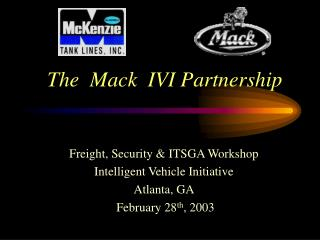 The  Mack  IVI Partnership